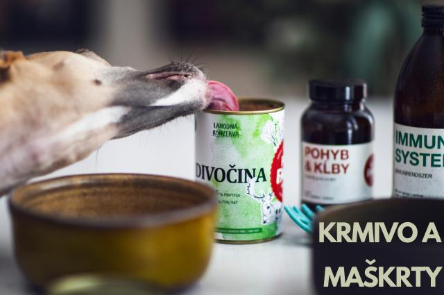 Krimov, maškrty a odmerny pre psov