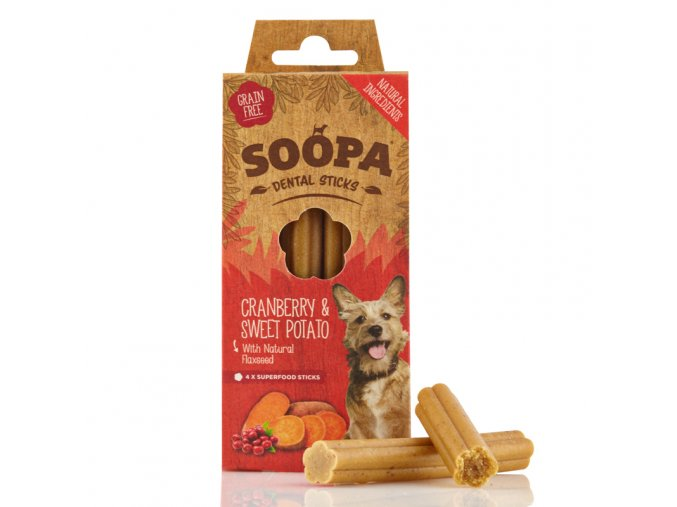 Sopa Cranberry & SweetPotato Dental Sticks
