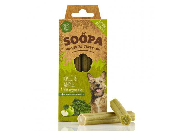 Soopa Kale & Apple Dental Sticks