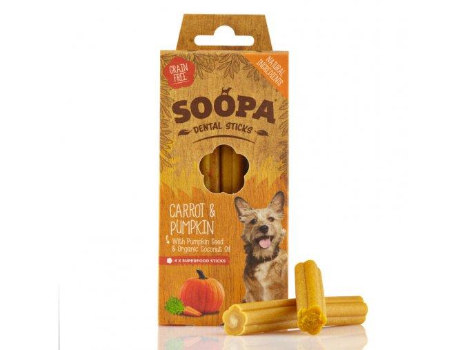 Soopa Carrot & Pumpkin Dental Sticks