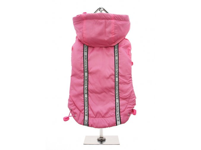 Kabát Rainstorm ružový