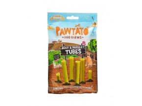 odmena pre psy benevo pawtato tubes mint parsley 90g