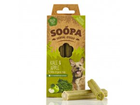Soopa Kale & Apple Dental Sticks