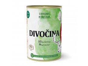 divocina konzerva 400