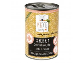 VEGDOG SENIOR NO1 400g neu web