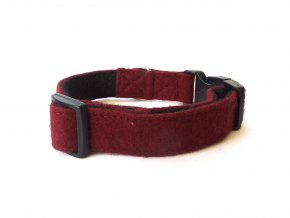 Wool Collar Maroon