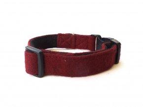 Wool Collar Maroon