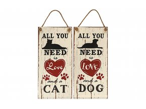 All You Need Is Love and a CatDog Sign