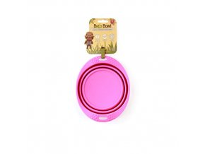BECO TRAVEL BOWL MEDIUM PINK 500x500
