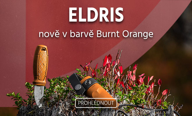 Morakniv Eldris Burnt Orange