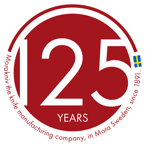 Morakniv logo 125 years