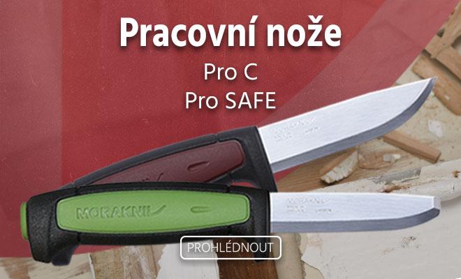 Nové nože Morakniv Craft Pro C a Pro C Safe