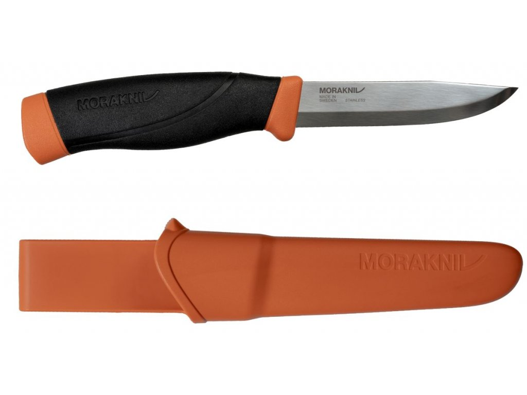 morakniv 13260 companion HDS burnt orange 1