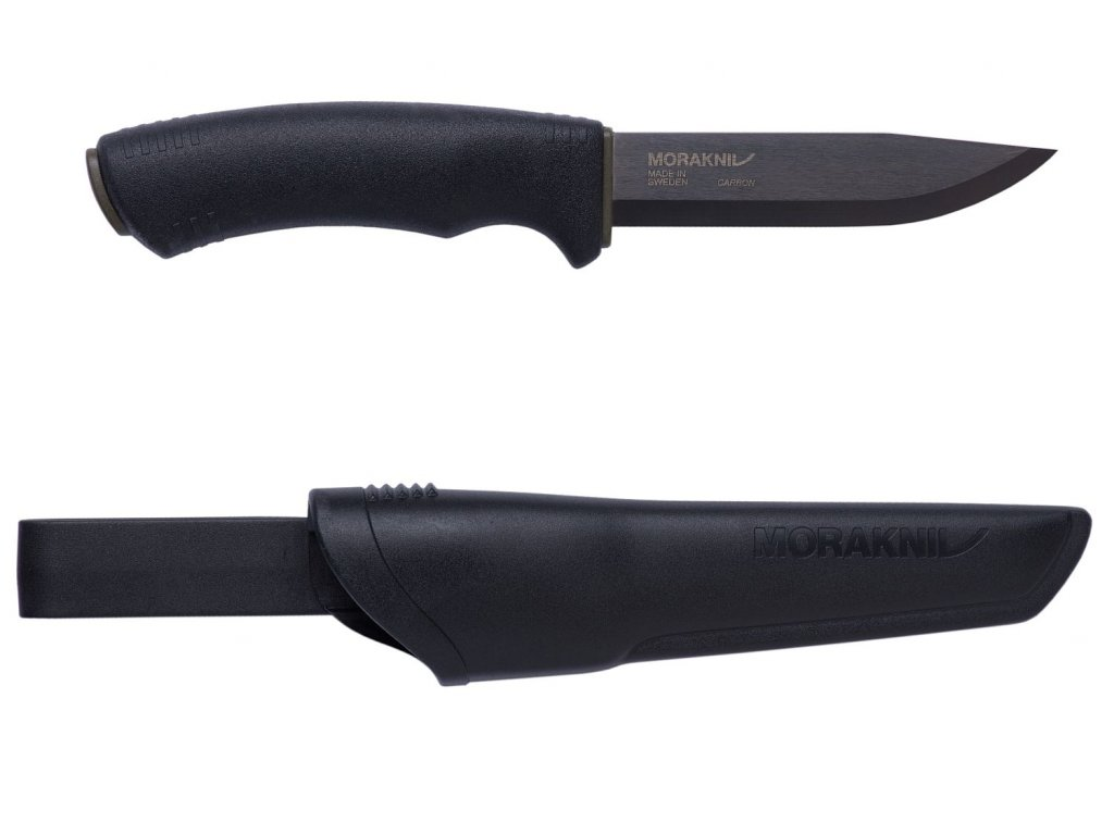 morakniv 10791 12490 Bushcraft Black 1