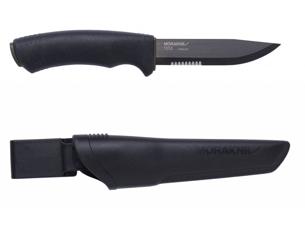 Morakniv Bushcraft Black SRT