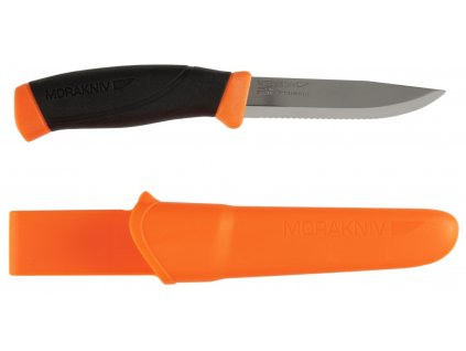 Morakniv Companion F Serrated Orange