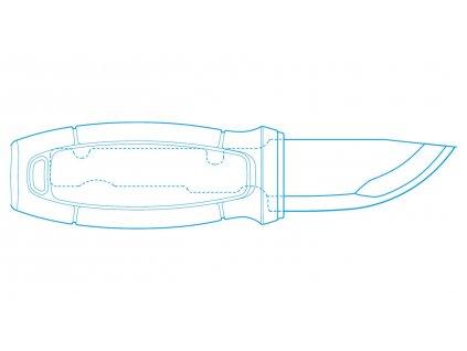 Morakniv nůž Eldris Black