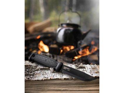 Morakniv outdoorový nůž Garberg Leather Sheath Black