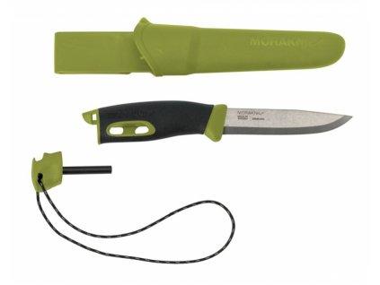 Morakniv nůž Companion Spark green