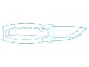 Morakniv nůž Eldris Blue