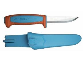 Morakniv pracovní nůž Basic 546 Blue /Orange Limited Edition