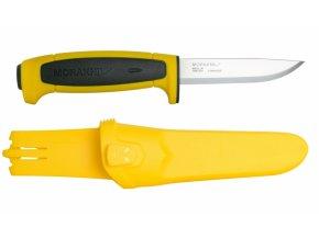 Morakniv pracovní nůž Basic 546 Yellow /Black Limited Edition