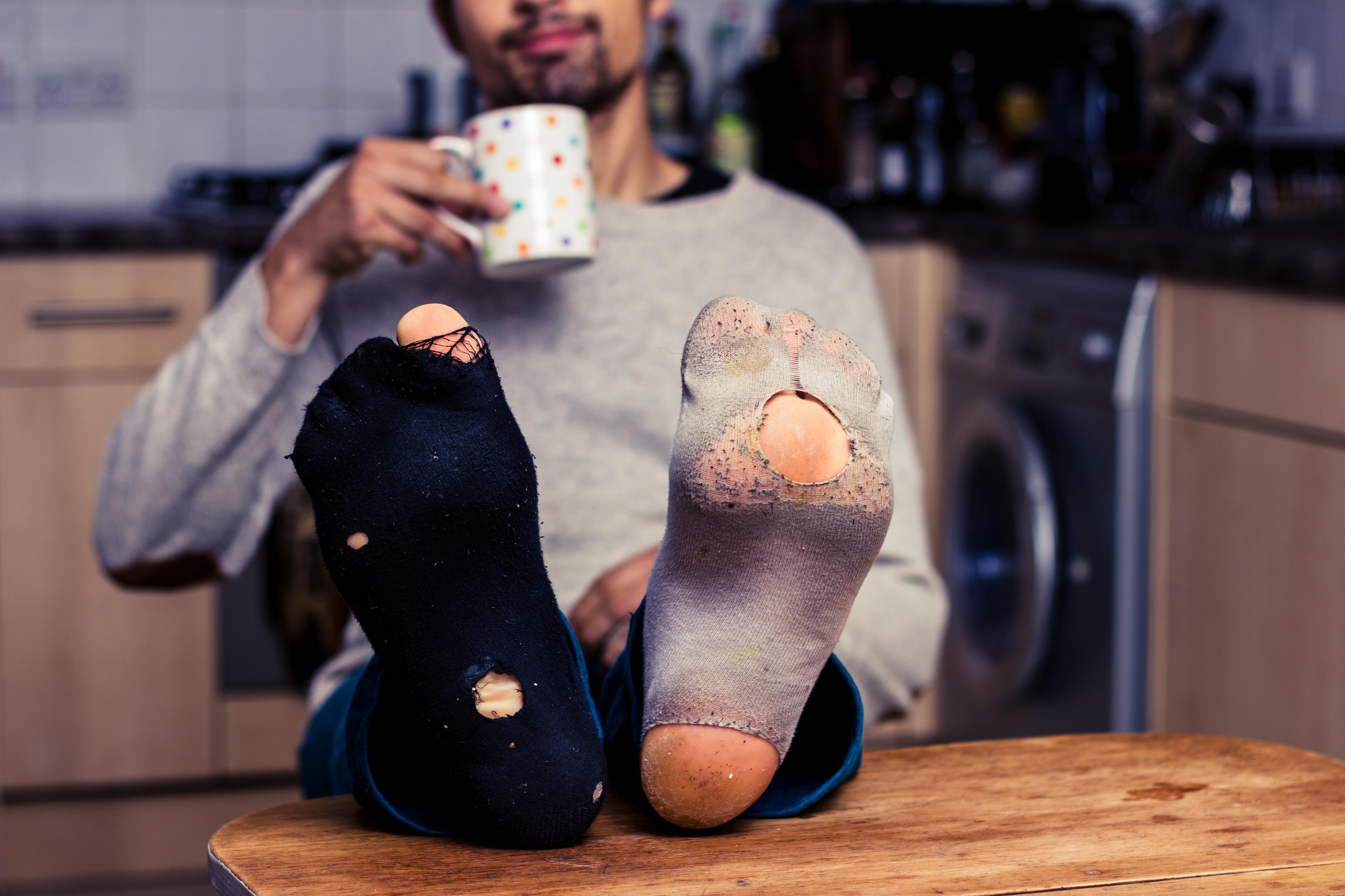Proč jsou ponožky ze 100 % bavlny špatné řešení?