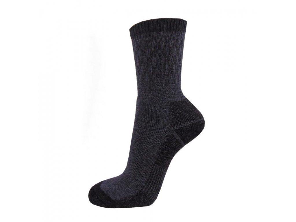Bavlněné THERMO ponožky FARMÁŘ - tmavé