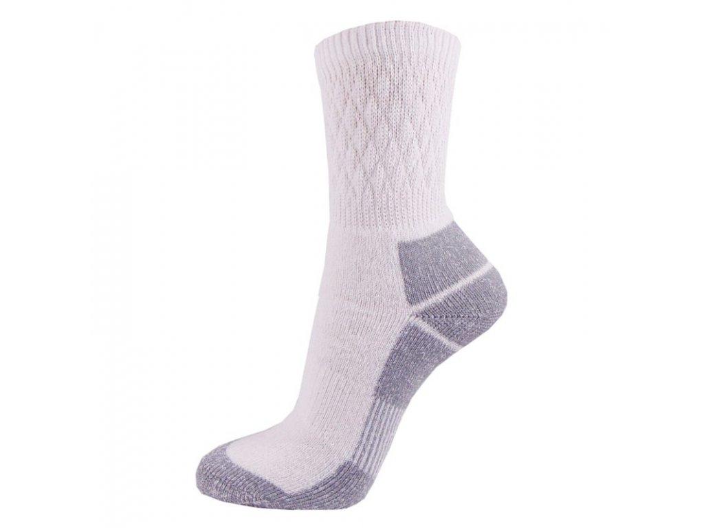 Bavlněné THERMO ponožky FARMÁŘ - světlé