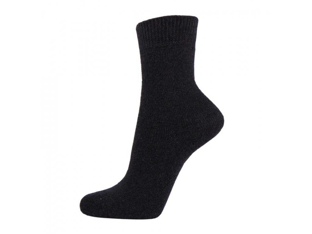 Bavlněné pracovní ponožky - tmavé