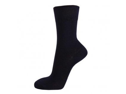 Klasické ponožky z BAMBUSOVÉ VISKÓZY - tmavě modrá