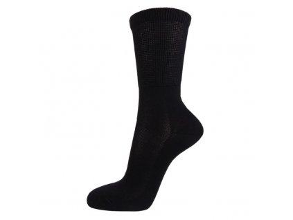 Zdravotní bavlněné ponožky MEDIC TOP - černé