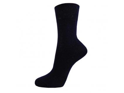 Klasické bavlněné ponožky - tmavě modré