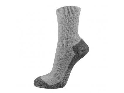 Bavlněné THERMO ponožky FARMÁŘ - šedé