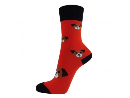 Veselé bavlněné ponožky PEJSEK