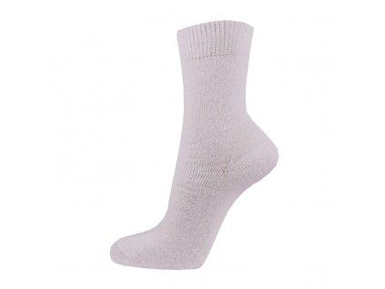 Bavlněné pracovní ponožky - bílé