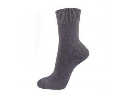 Bavlněné pracovní ponožky - šedé