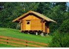 Zahradní domky, dřevěné fasády
