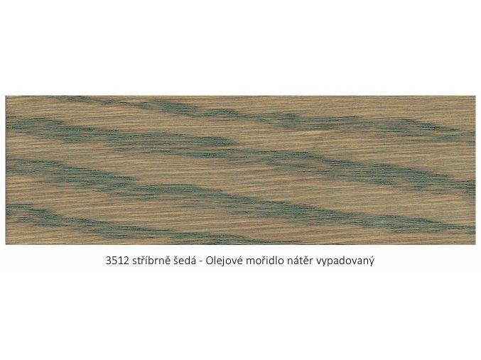 Osmo 3512 olejové mořidlo - Stříbrně šedá 0,125 lt