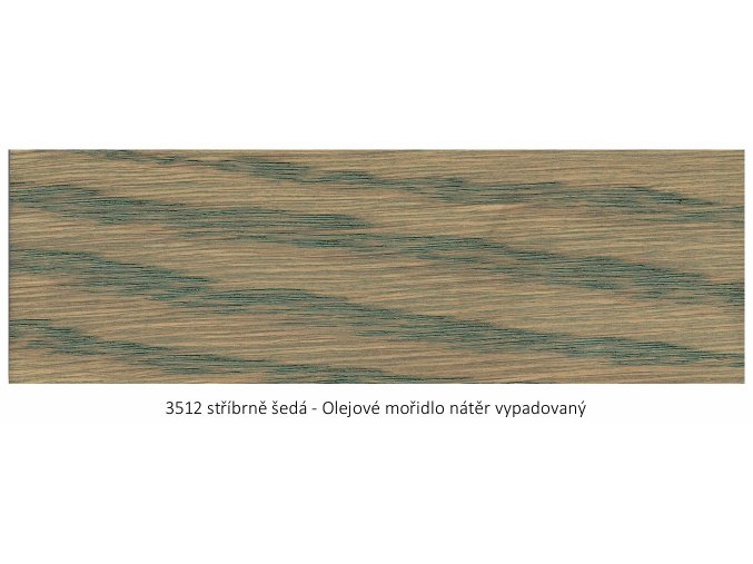 Osmo 3512 olejové mořidlo - Stříbrně šedá 2,5 lt  + zdarma dárek v hodnotě 256 Kč -  váleček Anza Platinum Antex 18 cm / + Držadlo válečku Anza Elite 18 cm/+ malířská vanička Anza 18 cm