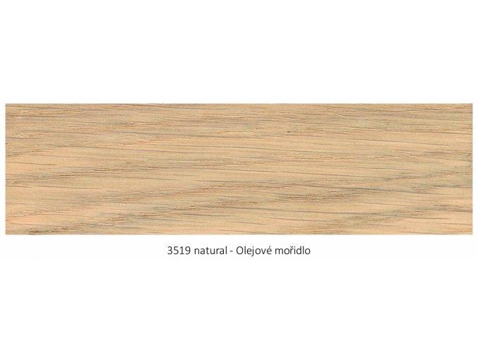 Osmo 3519 olejové mořidlo Natural 2,5 lt  + zdarma dárek v hodnotě 256 Kč -  váleček Anza Platinum Antex 18 cm / + Držadlo válečku Anza Elite 18 cm/+ malířská vanička Anza 18 cm