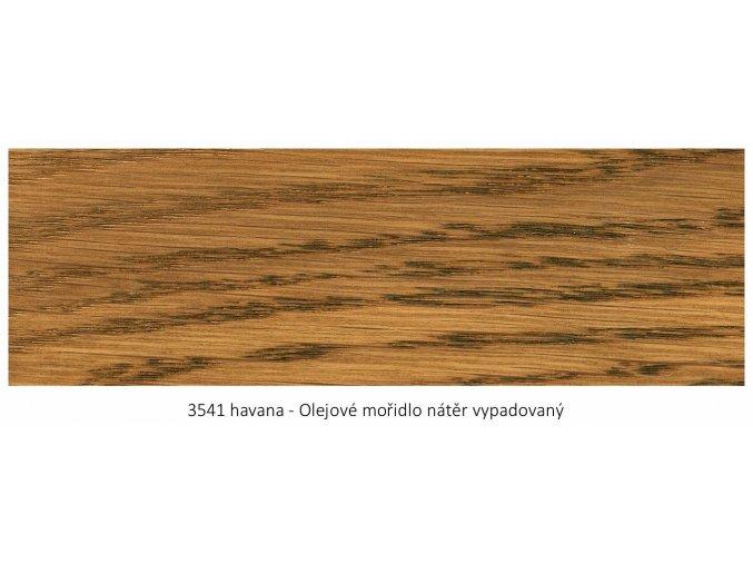 Osmo 3541 olejové mořidlo Havana 1 lt  + zdarma dárek v hodnotě 160 Kč - Anza Elite Flat Brush - štětec plochý 70 mm