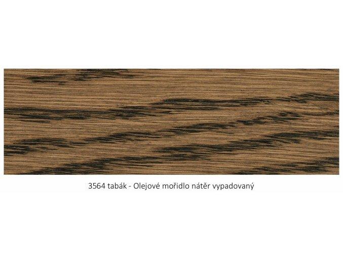 Osmo 3564 olejové mořidlo Tabák 1 lt  + zdarma dárek v hodnotě 161 Kč - Anza Elite Flat Brush - štětec plochý 70 mm