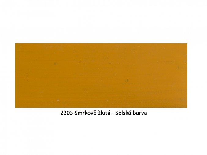 2203 Smrkově žlutá