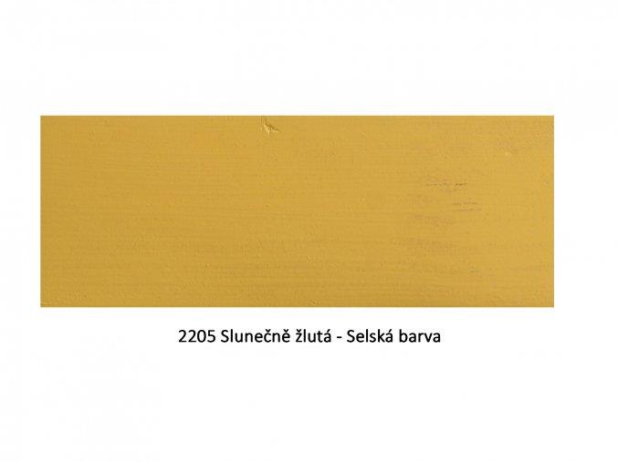 2205 Slunečně žlutá