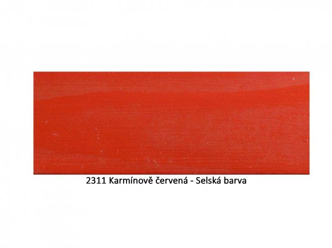 2311 Karmínově červená