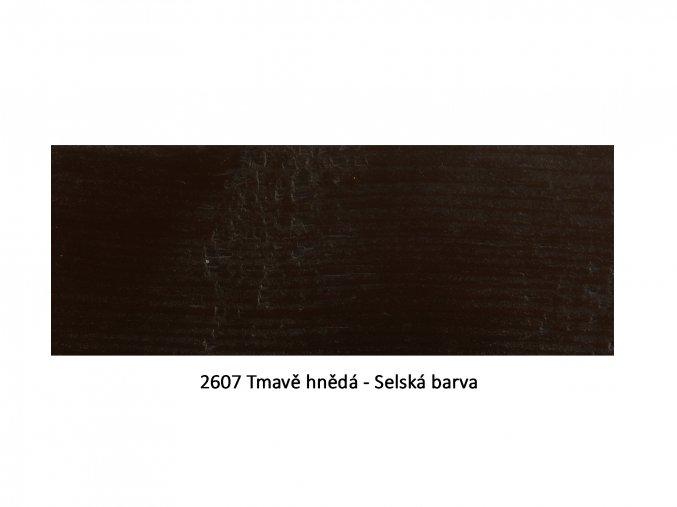 2607 Tmavě hnědá