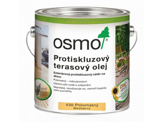Protiskluzový terasový olej 430