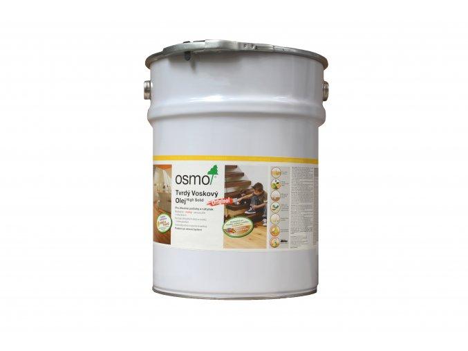 Osmo 3032 tvrdý voskový olej Original bezbarvý hedvábně polomatný 10 l