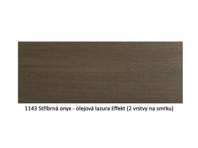 1143 Stříbrná onyx